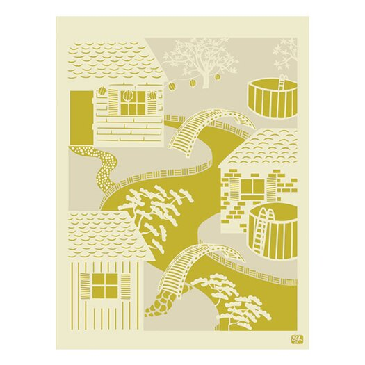 emma at home by Emma Gardner Japanese River Graphic Art