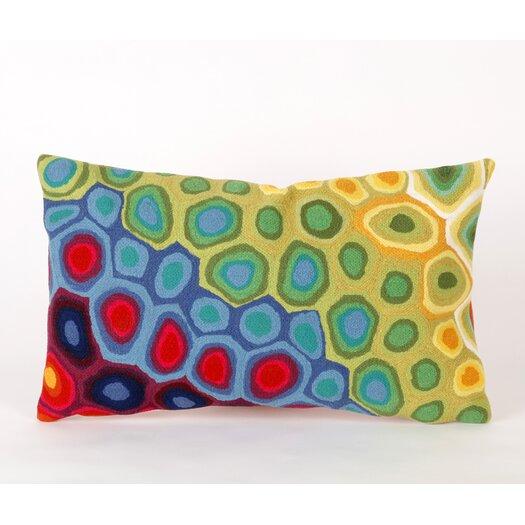 Liora Manne Pop Swirl Rectangle Indoor/Outdoor Pillow