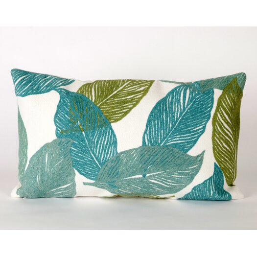 Liora Manne Mystic Leaf Rectangle Indoor/Outdoor Pillow