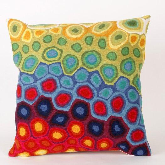 Liora Manne Pop Swirl Square Indoor/Outdoor Pillow