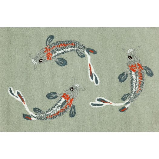 Liora Manne Frontporch Koi Fish Area Rug