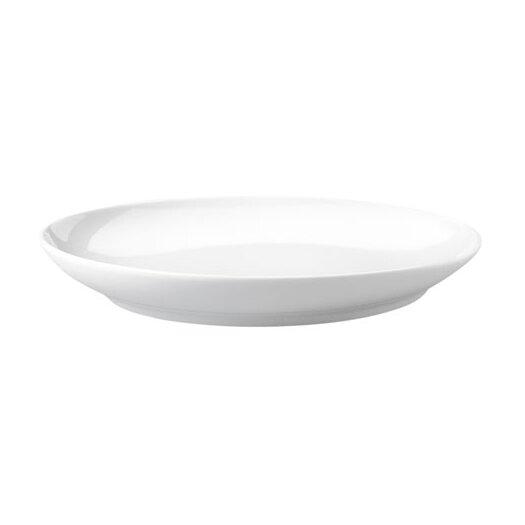 """KAHLA Five Senses White 8.66"""" Breakfast Plate"""