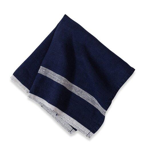 Couleur Nature Laundered Linen Stripe Napkin