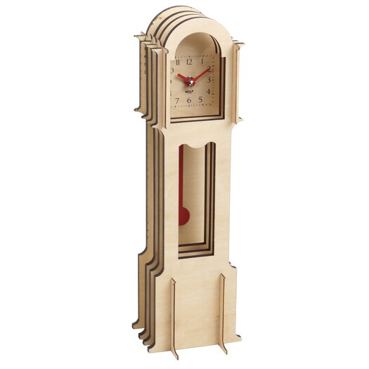 WOLF Jigsaw Mini Grandfather Clocks