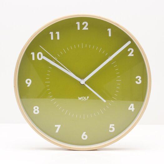 "WOLF Moderne 12"" Wall Clock"