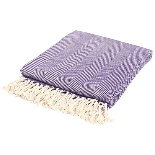 Nine Space Nine Space Herringbone Throw Blanket