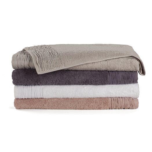 Nine Space Pleated 3 Piece Towel Set