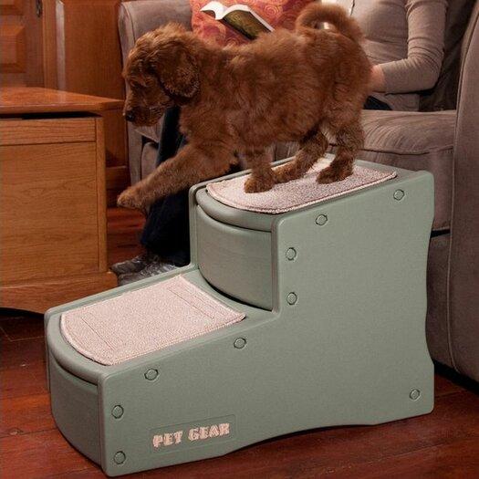 Pet Gear Easy Step II 2 Step Pet Stair