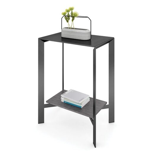 BDI Crease Pedestal Console Table