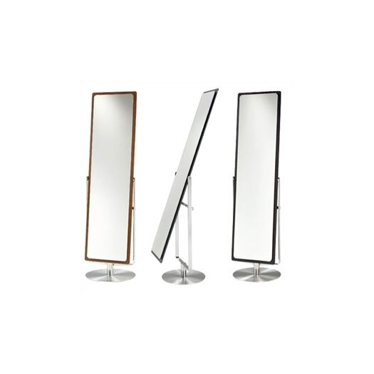 Continuum Cheval Mirror With Swivel in Espresso