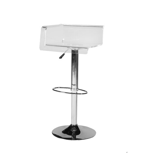 Pangea Home Julie Adjustable Height Bar Stool