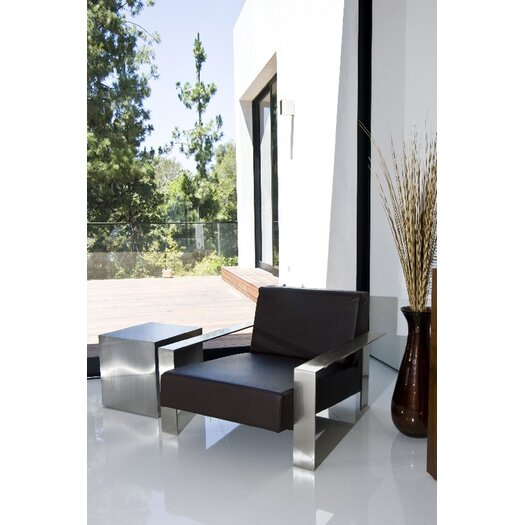 Pangea Home Lanser End Table