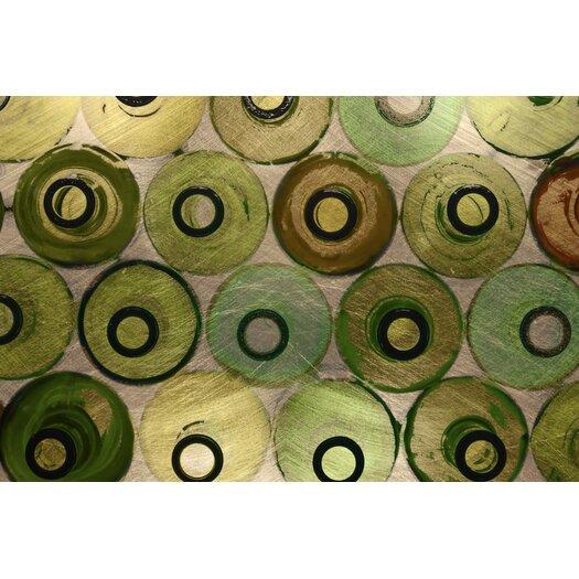 JORDAN CARLYLE Abstract Bottled Up #3 Framed Graphic Art