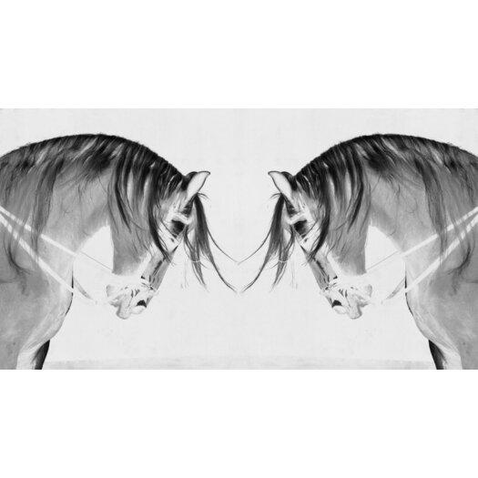 JORDAN CARLYLE Figurative Knight Fall #2 Framed Graphic Art
