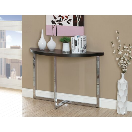 Monarch Specialties Inc. Half Moon Console Table