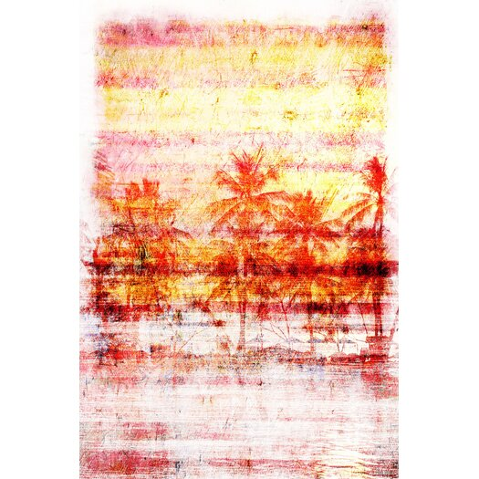 Palisades Painting Print on Canvas