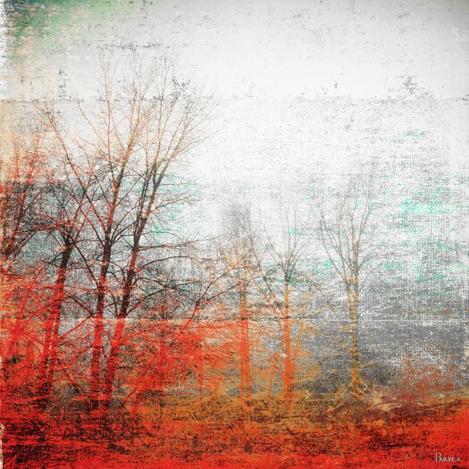 Deep Forest Painting Print on Canvas