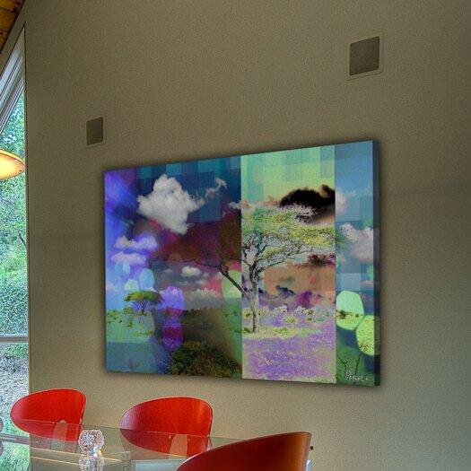 Parvez Taj Bright Lights - Art Print on Premium Canvas