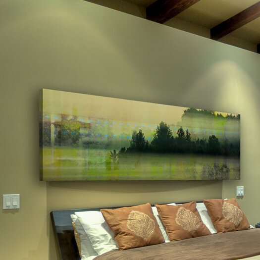 Parvez Taj Departure Lounge by Parvez Taj Graphic Art on Canvas