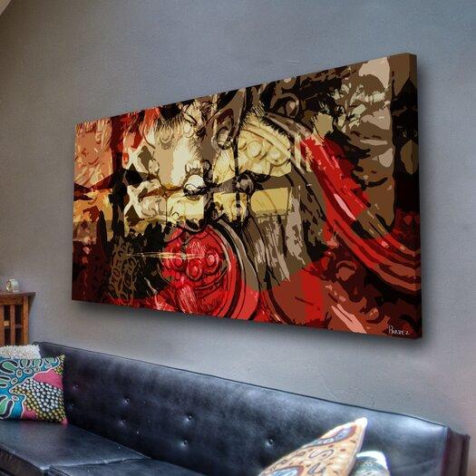 Parvez Taj Ku De Ta - Art Print on Premium Canvas