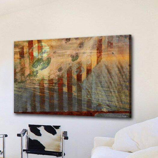 Parvez Taj Sun Set - Art Print on Premium Canvas