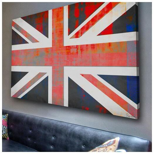 Parvez Taj Union Jack - Art Print on Premium Canvas