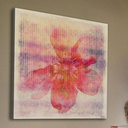 Parvez Taj Flower I Painting Print on Canvas