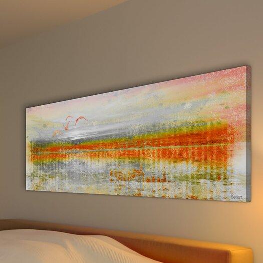 Parvez Taj Linear Birds - Art Print on Premium Canvas