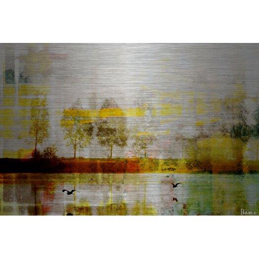 Orr Lake Painting Print Plaque