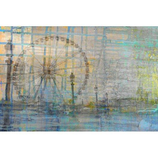 Parvez Taj Carrousel - Art Print on Premium Canvas