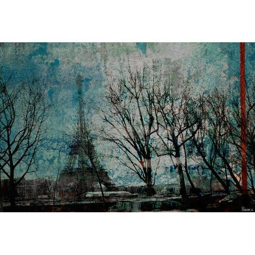 Parvez Taj La Tour Eiffel - Art Print on Premium Canvas