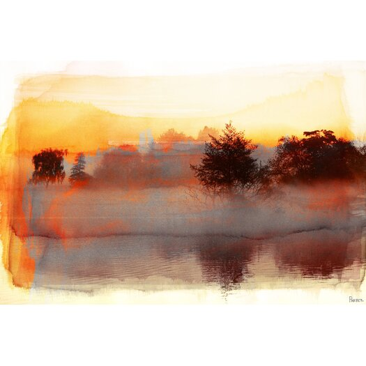 Parvez Taj Pine Ridge Graphic Art on Canvas