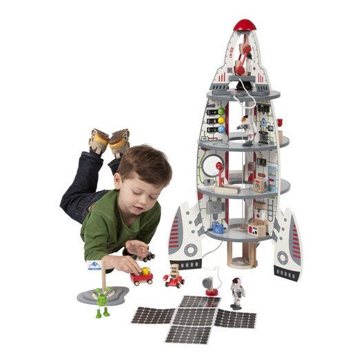 HaPe Discovery Space Ship and Lift Off Rocket