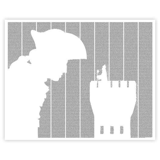 Postertext Gulliver's Travels Graphic Art