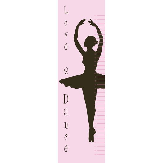 Secretly Designed Ballet Growth Chart