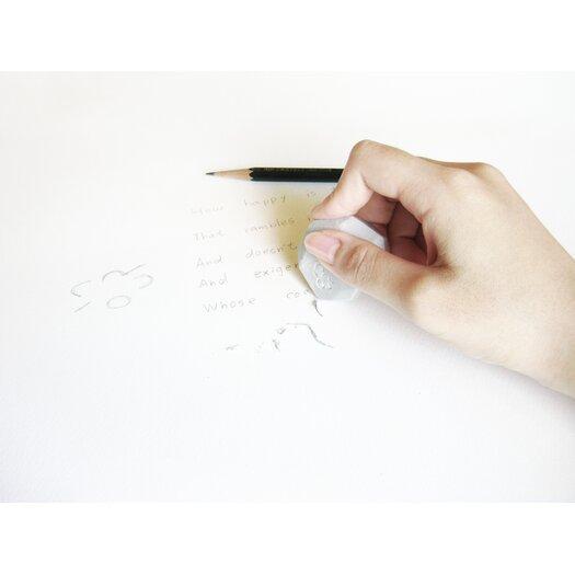Molla Space, Inc. Megawing Pebble Eraser