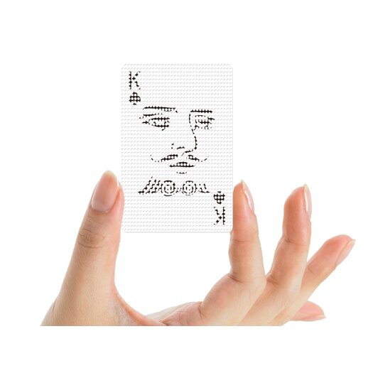 Molla Space, Inc. Mollaspace Poker Face Deck of Cards