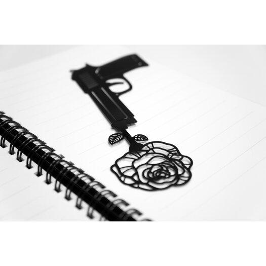 Molla Space, Inc. Armed Gun Bookmark