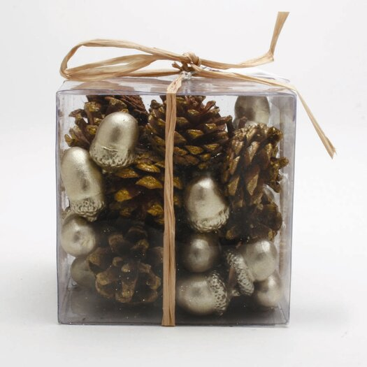 TAG Holiday Celebration Acorn and Pinecone Set