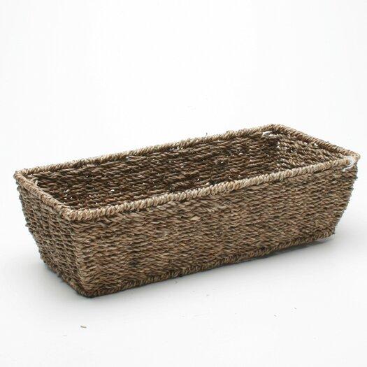 TAG Baskets Rectangular Seagrass Basket