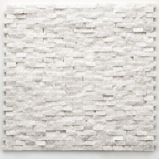 """Solistone Modern 12"""" x 12"""" Mesh Tile in Beaux"""