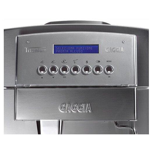 Gaggia Titanium Super-Automatic Espresso Machine