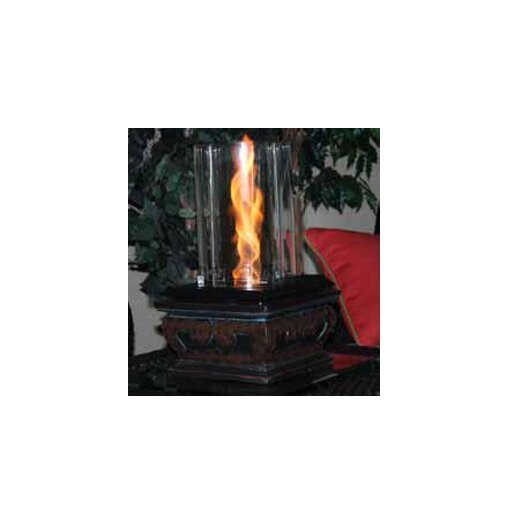 The Outdoor GreatRoom Company Serenity Glass Gel Table Top Fireplace