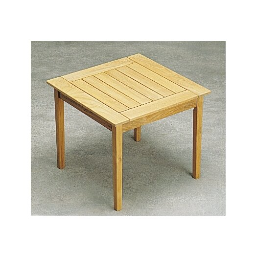 Teak Square Drachmann Bistro Table