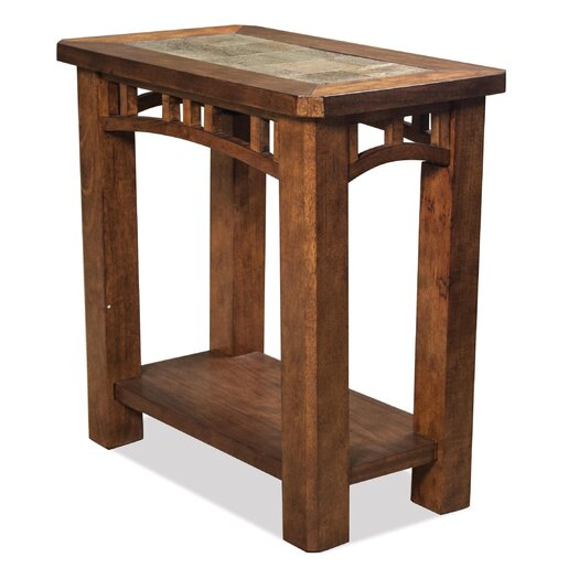 Riverside furniture preston end table allmodern for Furniture 2 day shipping
