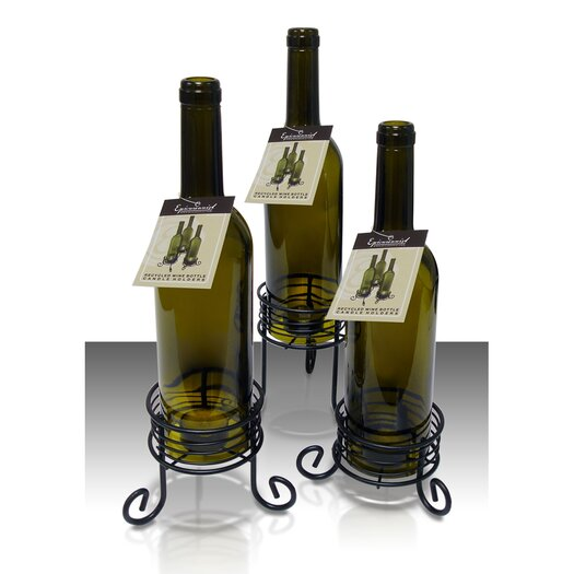 Vinotemp Wine Bottle Candle Holders