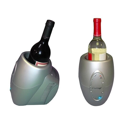 Vinotemp Single Bottle Single Zone Thermoelectric Wine Chiller/Warmer