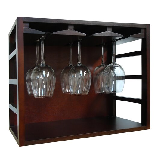 Vinotemp Epicureanist Stackable Tabletop Wine Glass Rack