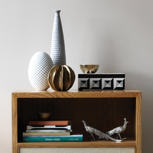 DwellStudio Diamond Cut Egg Vase