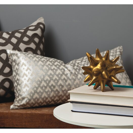 DwellStudio Urchin Antique Gold Objet